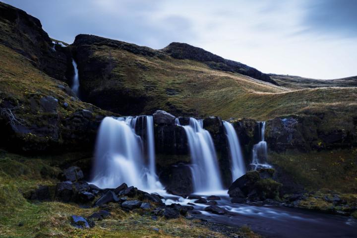 Kleiner, unbekannter Wasserfall in Island #26 | Kai-Uwe Klauss Landscape Photography