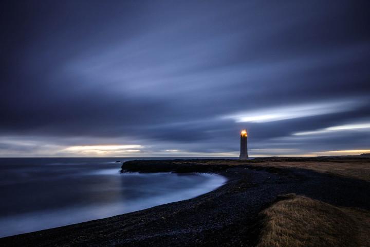 Snæfellsnes, Lighthouse, Iceland #1 | Kai-Uwe Klauss Landscape Photography