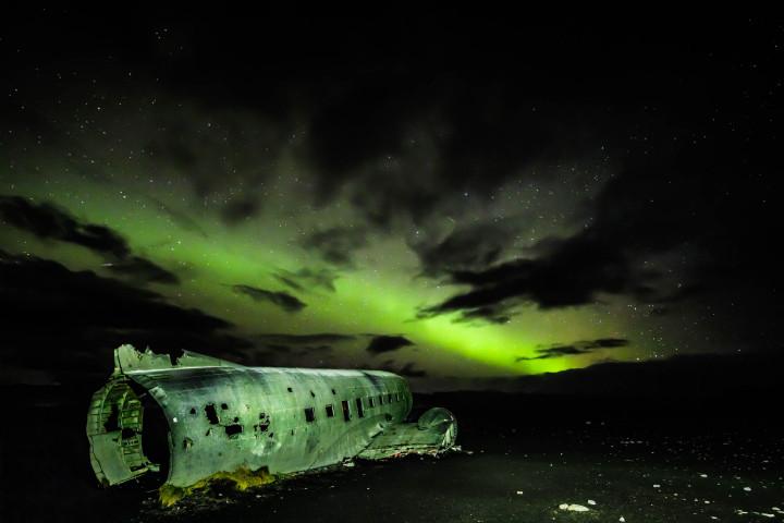 Solheimasandur, Flugzeugwrack, Island #1 | Kai-Uwe Klauss Landscape Photography