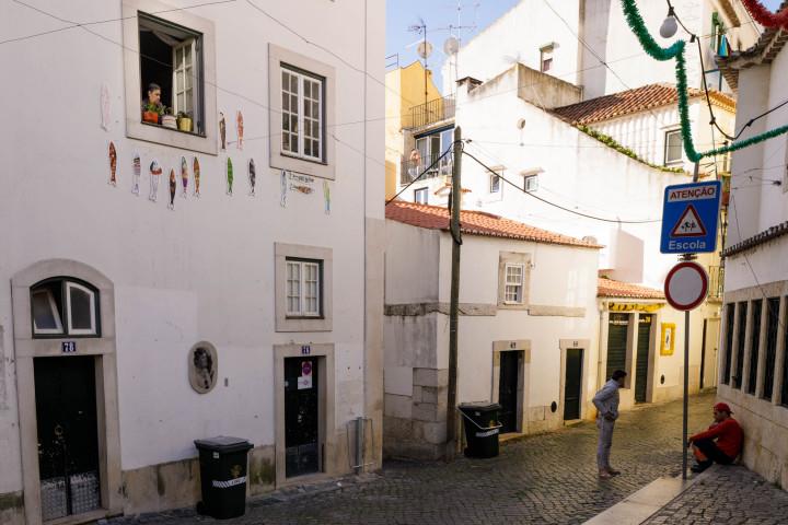 Lissabon, Alfama #2 | Kai-Uwe Klauss Architecture Photography