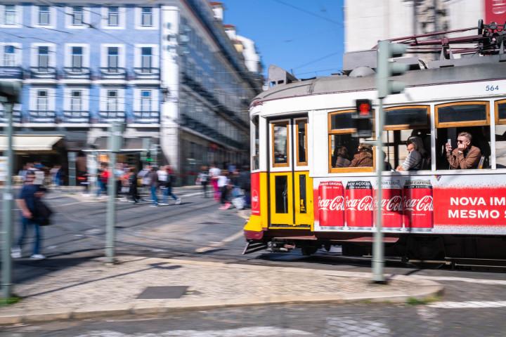 Tram, Lissabon #17 | Kai-Uwe Klauss Architecture Photography