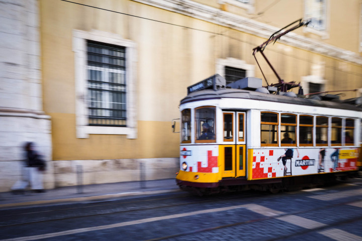 Tram, Lissabon #38 | Kai-Uwe Klauss Architecture Photography