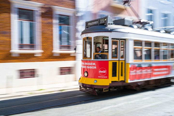 Tram, Lissabon #42 | Kai-Uwe Klauss Architecture Photography