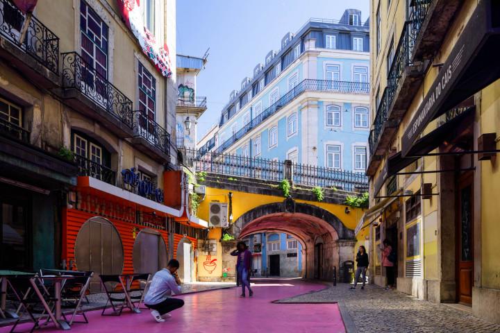 Straßen von Lissabon #33 | Kai-Uwe Klauss Architecture Photography