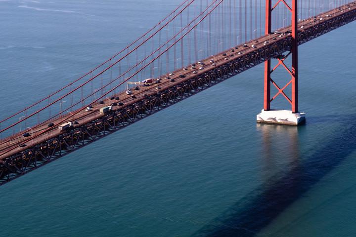 Ponte 25 de Abril, Lissabon #2 | Kai-Uwe Klauss Architecture Photography