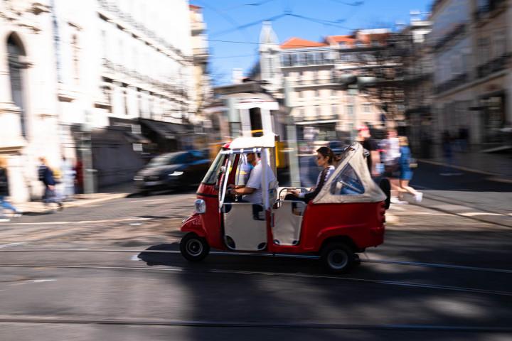 Rikscha in Lissabon #1 | Kai-Uwe Klauss Architecture Photography