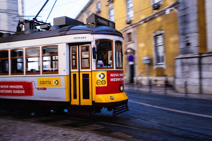Carris Tram, Lissabon #2 | Kai-Uwe Klauss Architecture Photography