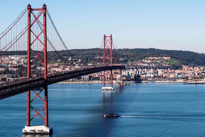 Ponte 25 de Abril, Lissabon #1 | Kai-Uwe Klauss Architecture Photography