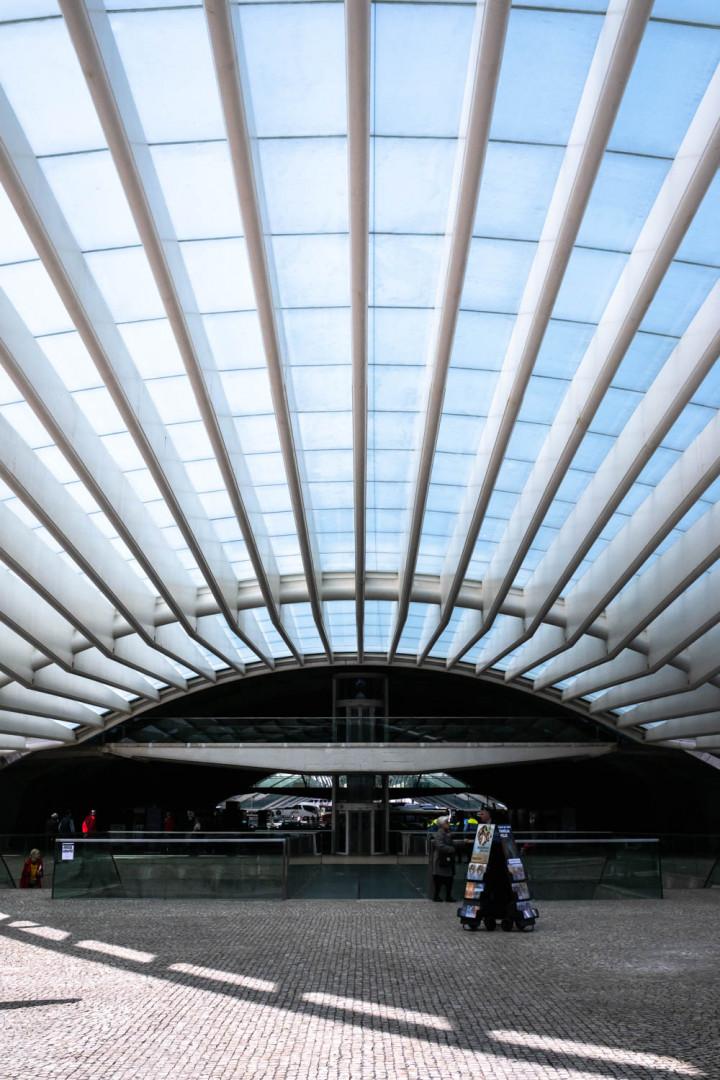 Estação do Oriente, Lissabon #2 | Kai-Uwe Klauss Architecture Photography
