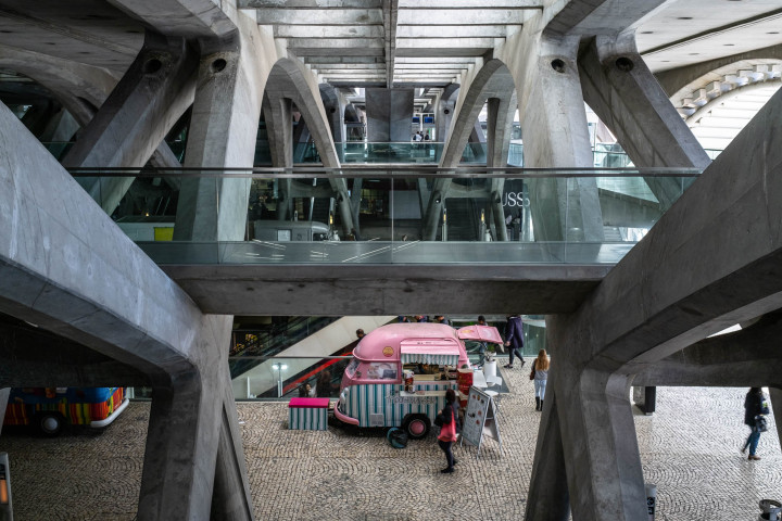Estação do Oriente, Lissabon #3 | Kai-Uwe Klauss Architecture Photography