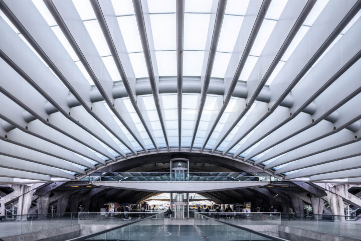 Estação do Oriente, Lissabon #4 | Kai-Uwe Klauss Architecture Photography