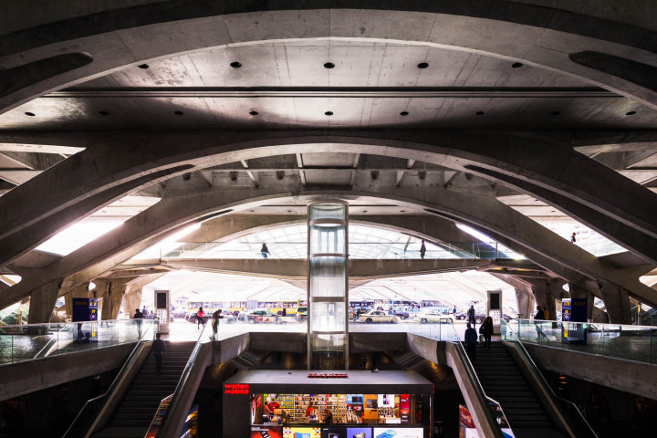 Estação do Oriente, Lissabon #5 | Kai-Uwe Klauss Architecture Photography