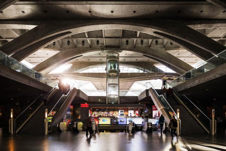 Estação do Oriente, Lissabon #6 | Kai-Uwe Klauss Architecture Photography