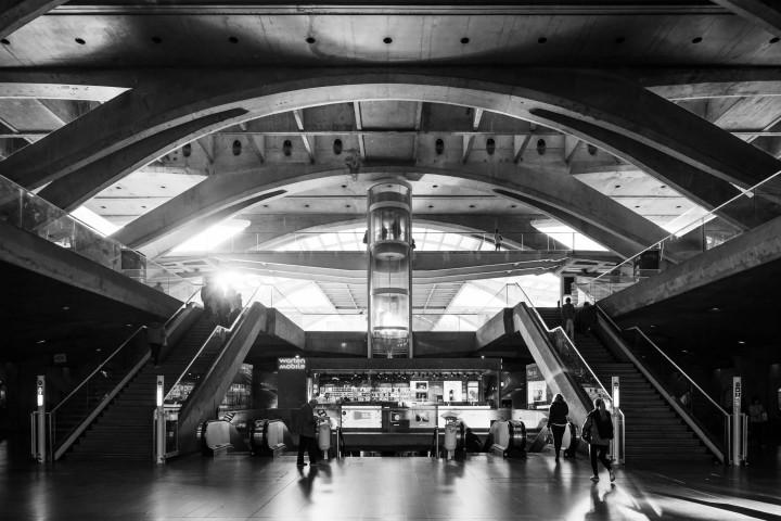 Estação do Oriente, Lissabon #7 | Kai-Uwe Klauss Architecture Photography