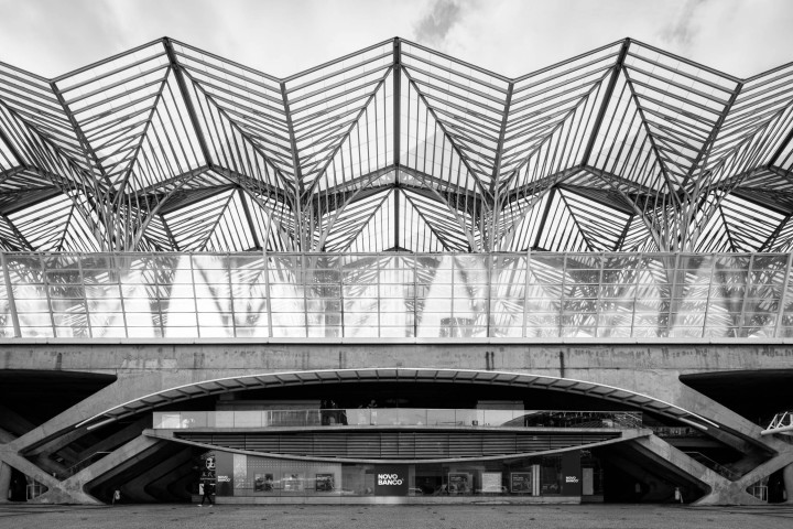 Estação do Oriente, Lissabon #8 | Kai-Uwe Klauss Architecture Photography