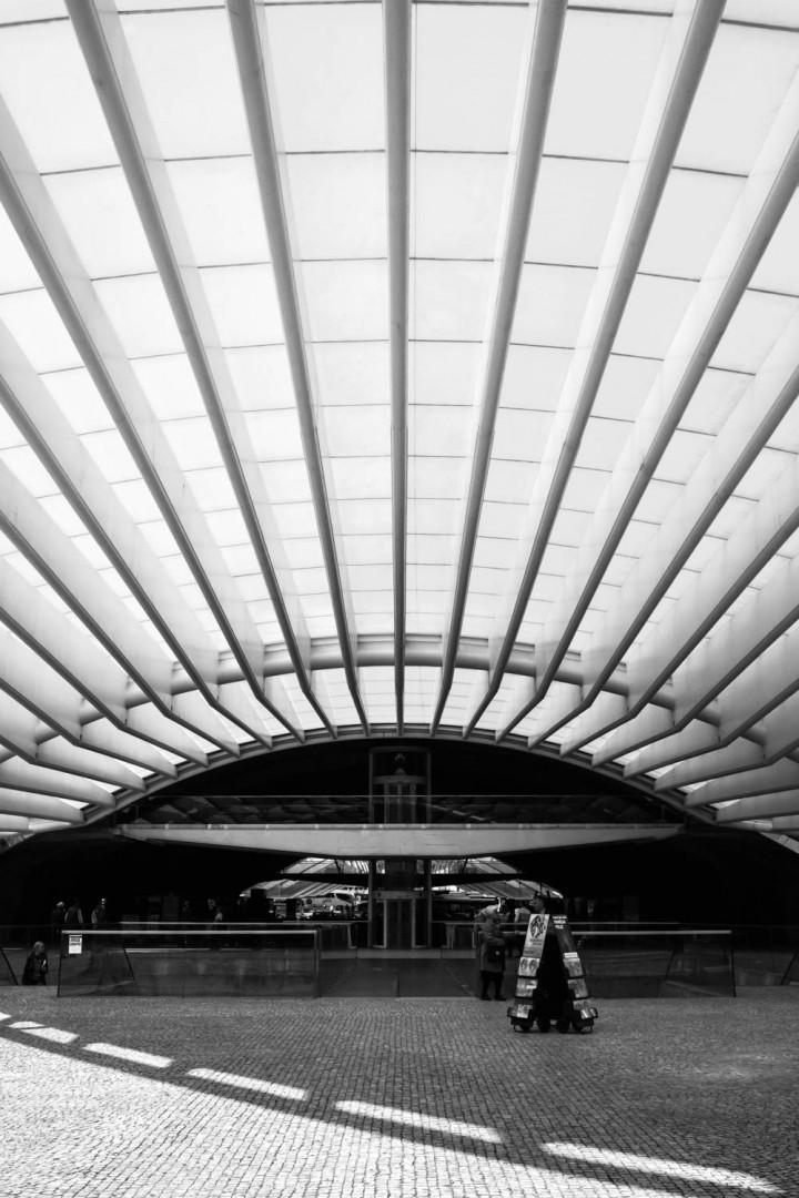 Estação do Oriente, Lissabon #1 | Kai-Uwe Klauss Architecture Photography