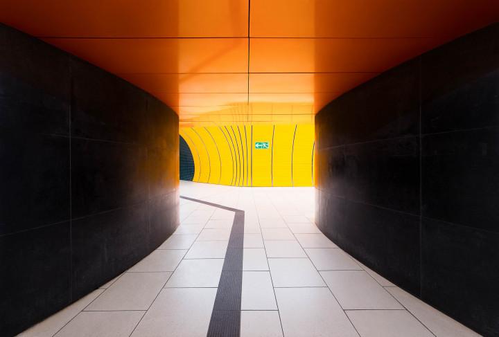 U-Bahn Marienplatz, München #4 | Kai-Uwe Klauss Architecture Photography
