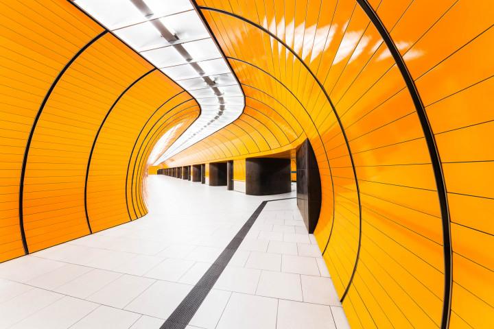 U-Bahn Marienplatz, München #2 | Kai-Uwe Klauss Architecture Photography