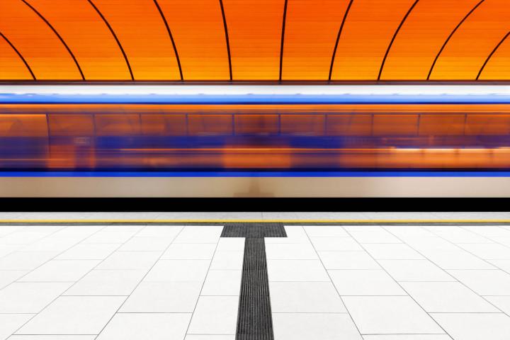 U-Bahn Marienplatz, München #3 | Kai-Uwe Klauss Architecture Photography