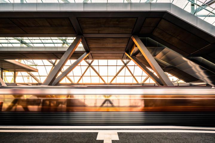 U-Bahn Station Elbbrücken Hamburg | Kai-Uwe Klauss Fotografie